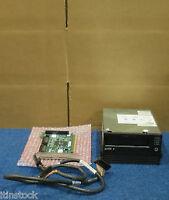 Dell P7818 Ultrium LTO1 SCSI Internal Backup Tape Drive + Card, Cable STU42001lW