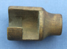Finnish m39 mosin nagant muzzle cover Knurled brass