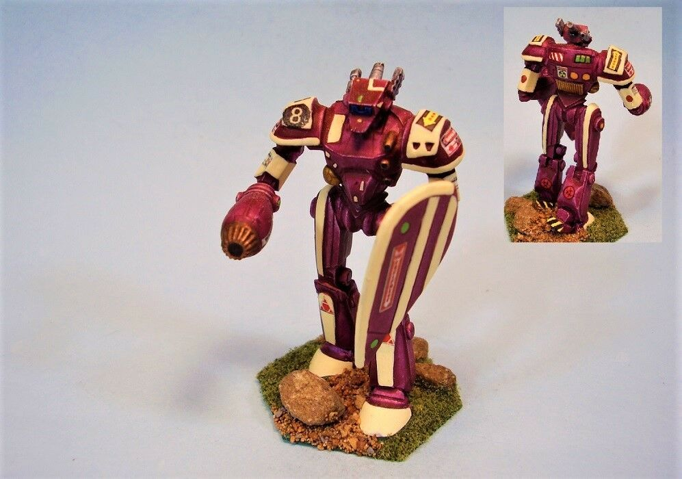 Battletech painted miniature Sasquatch battlemech MWC