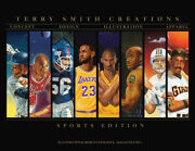 Terry Smith TSC signed Limited Edition Catalogue Jordan Kobe LeBron Zion Luka