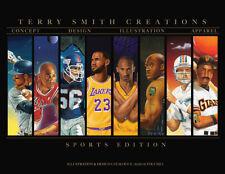 Terry Smith TSC signed Limited Edition Catalogue Jordan Kobe LeBron Zion Luka