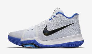 Nike Kyrie Irving 3 III Brotherhood 852395 102 Hyper Cobalt Blue and White Duke