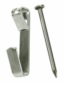 500-30-lb-Wall-Picture-Frame-Hangers-Hooks-200-nails-fasteners-hanging