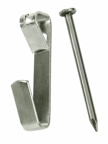 100) 30 LB Wall Picture Frame Hangers Hooks / 100 Nails Hanging   eBay