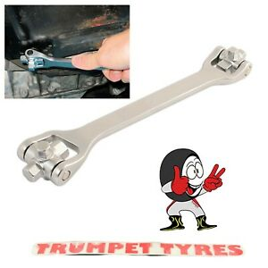8-In-1-Drain-Plug-Wrench-Square-amp-Hex-8-Sizes-On-1-Tool-Top-Quality-4977