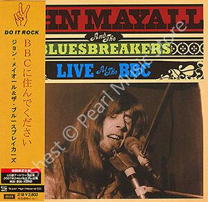 JOHN MAYALL & BLUESBREAKERS LIVE AT THE BBC CD MINI LP OBI Canned Heat Cream new