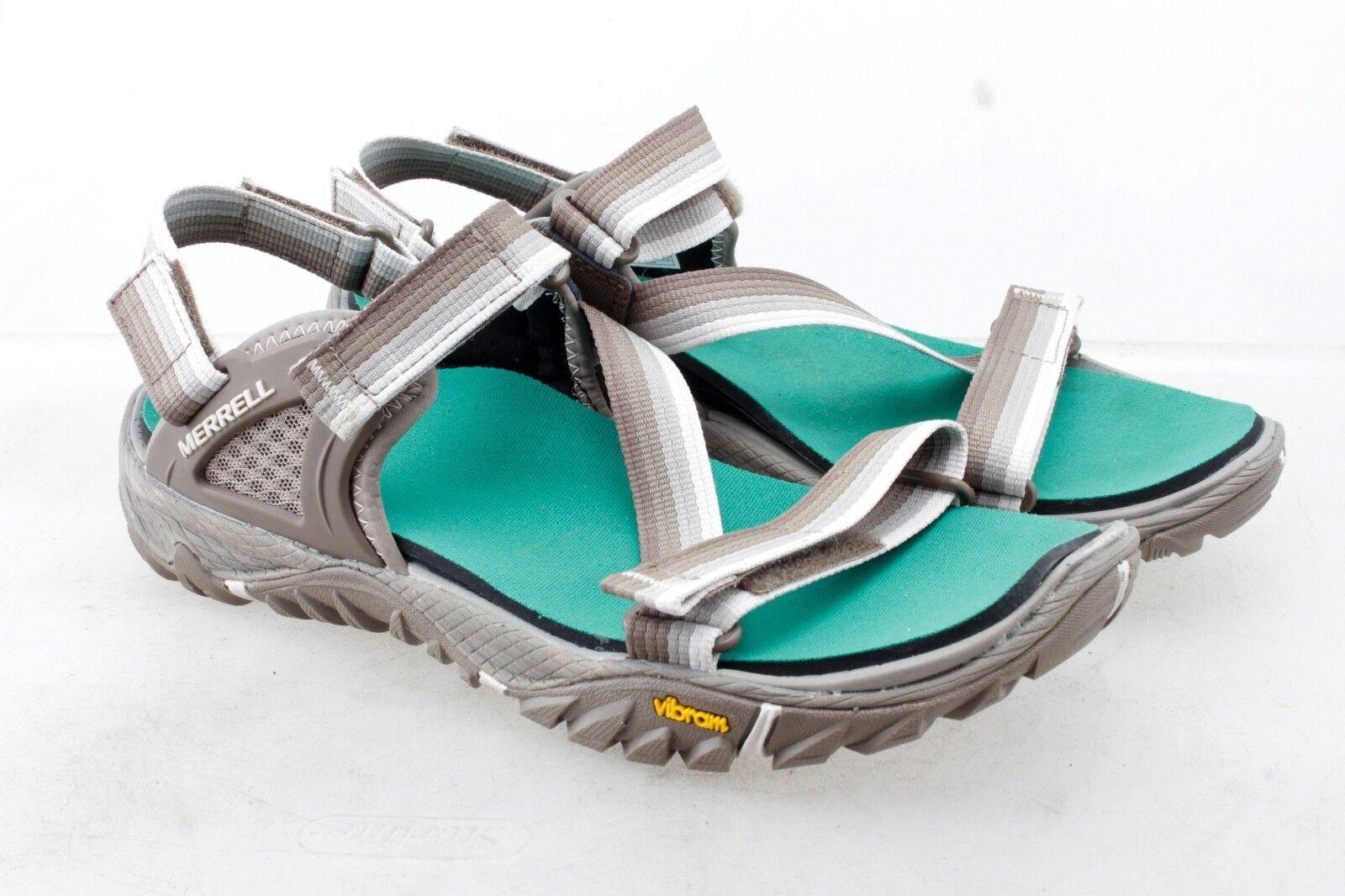 Merrell Womens shoes Sandal All Out Blaze Web Aluminum 10 Medium (M, B)
