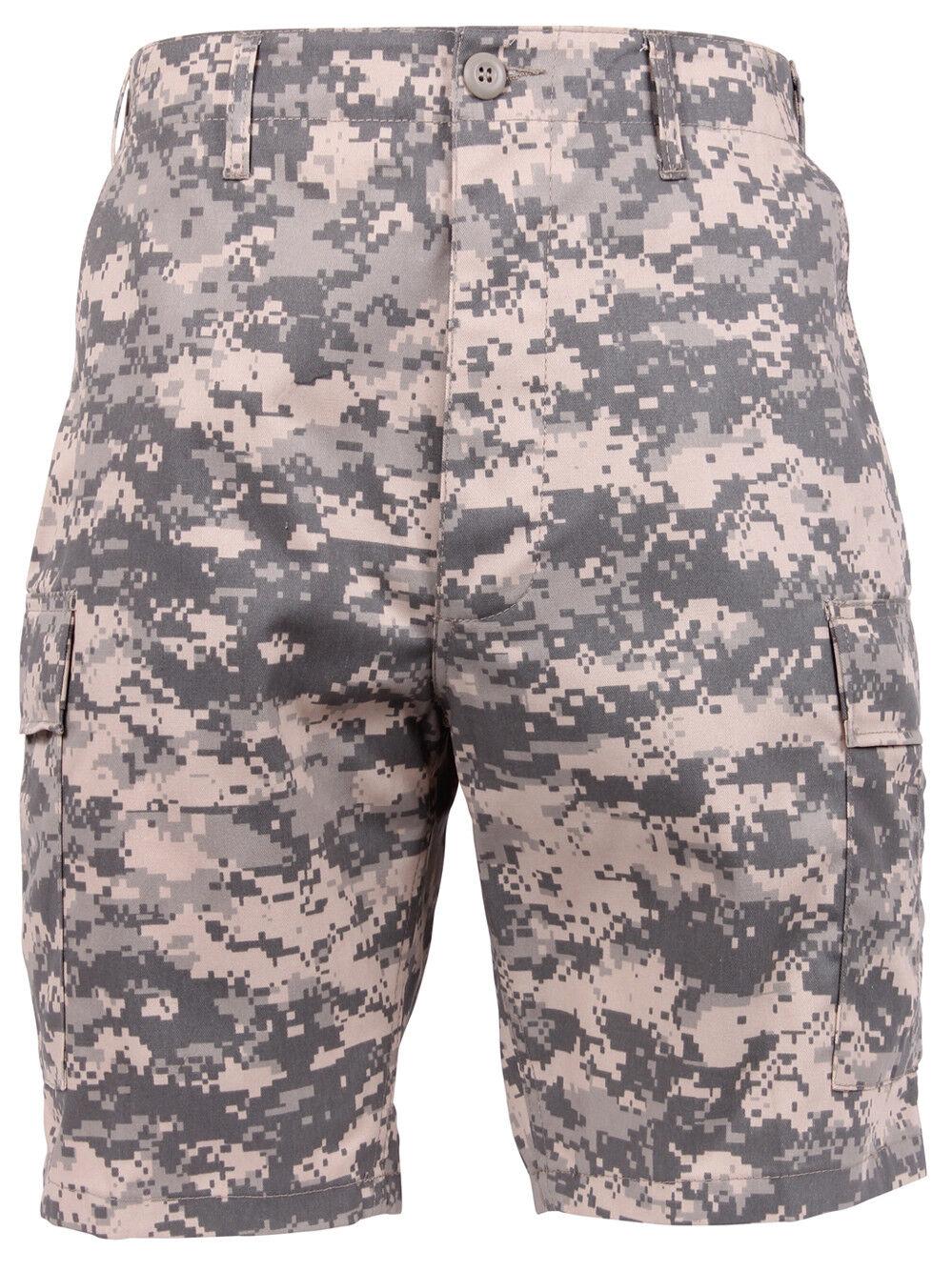 Shorts camo army acu digital military bdu style camouflage mens redhco 65312