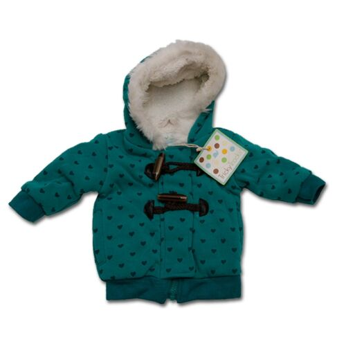 Tricky Tracks ° Mädchen Baby ° Winter Übergangsjacke ° Sweat Jacke ° 68 74 80 86