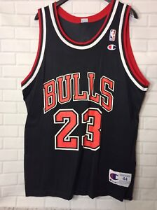 separation shoes fc895 9b645 Details about Vintage Michael Jordan #45 Chicago Bulls Authentic 90's  Champion Jersey SZ44Mens