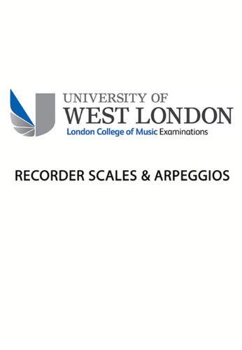 LCM Recorder Scales /& Arpeggios 9790570120055 Recorder Music London College of M