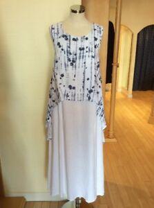 Rock Now Bnwt White Eden Linen Rrp £54 Blue Xs £120 And Dress Size PFwFRrdq
