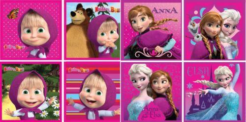 Eiskönigin Masha und der Bär Zauberhandtuch Magic Zauberwaschlappen Waschlappen