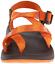 Chaco Z2 Yampa Sport Sandal Spirit OXW Orange Womens Size 7