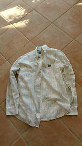CHEMISE HOMME MANCHE LONGUE TAILLE L - TAILLE 40 - COTON - OLD RIVER - RAYE