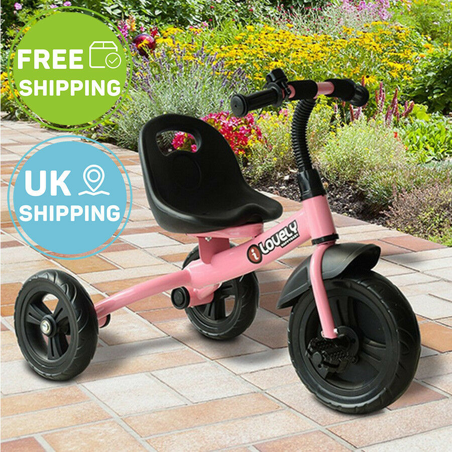 f994e63b894 Kids Children Trike Tricycle 3 Wheels Toddler Ride On Scooter Safety ...