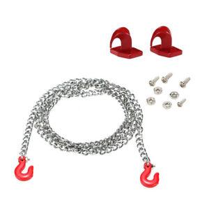 1//10 RC Trailer Hook Tow Chain Tow For RC Axial SCX10 Tamiya Crawler Car Part*sh