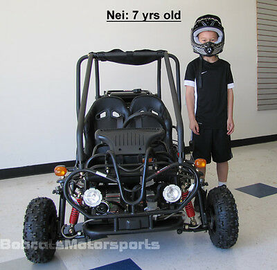 NEW Youth Go Kart Children ATV Automatic w/ Reverse, Governor, FREE SHIP  +HELMET | eBay