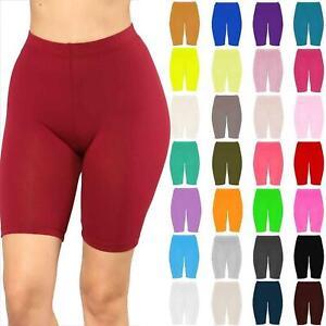 Détails sur Femme Vélo Short Danse Gym Biker Hot Pants Leggings actif Casual Sports afficher le titre d'origine