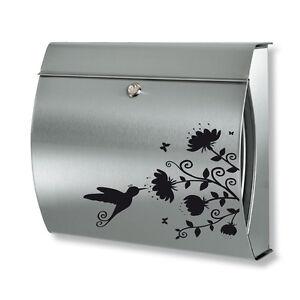 briefkasten aufkleber kolibri wandtattoo sticker. Black Bedroom Furniture Sets. Home Design Ideas