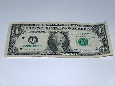 Coins & Paper Money 2013 Bill Us Note Date Year 50s Era Pair 1957 32991957 Fancy Serial # Evident Effect