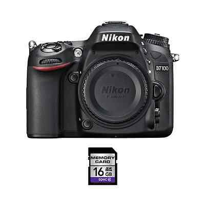 Nikon D7100 DSLR Camera w/16GB SDHC Card