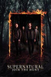 Poster Supernatural Burning Gate