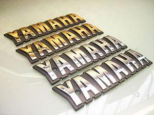 TANK-EMBLEM-YAMAHA-SCHRIFTZUG-GOLD-O-CHROM-SR-500-250-XJ-550-XS-400-650-750-TR1