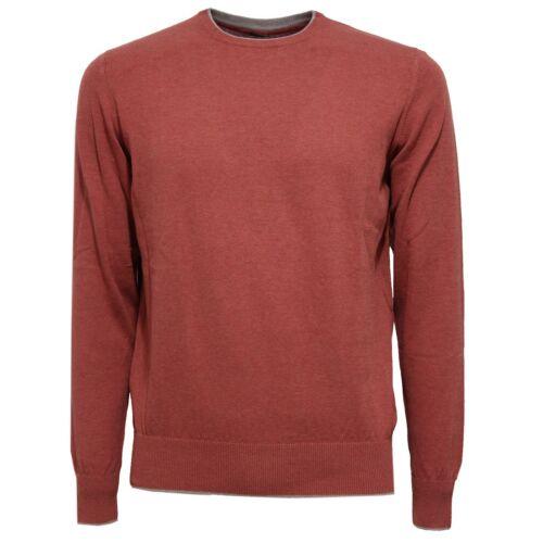 brown Red Cotton Sweater Uomo Maglione 8405w Men Eleventy wCnqvwpP