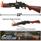 LONG SHOTGUN RIFLE MACHINE GUN TOY WITH  FX SOUND AND LIGHTS M-16 GREAT GIFT