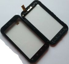 ORIGINAL Motorola Defy MB526 Front Scheibe Rahmen Touchscreen Display Glas