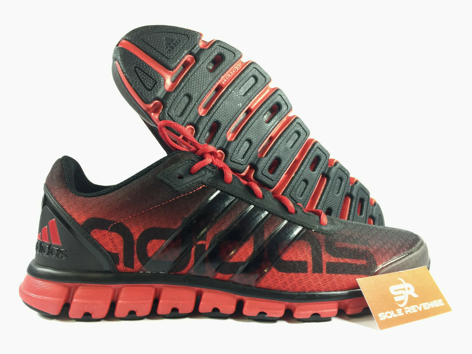 New Adidas Clima REGULATE Men's Running shoes Black Red G56601