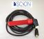 ARC MMA Stick Welding Electrode Lead 3 Metre with 35//50 Dinse Plug 400amp