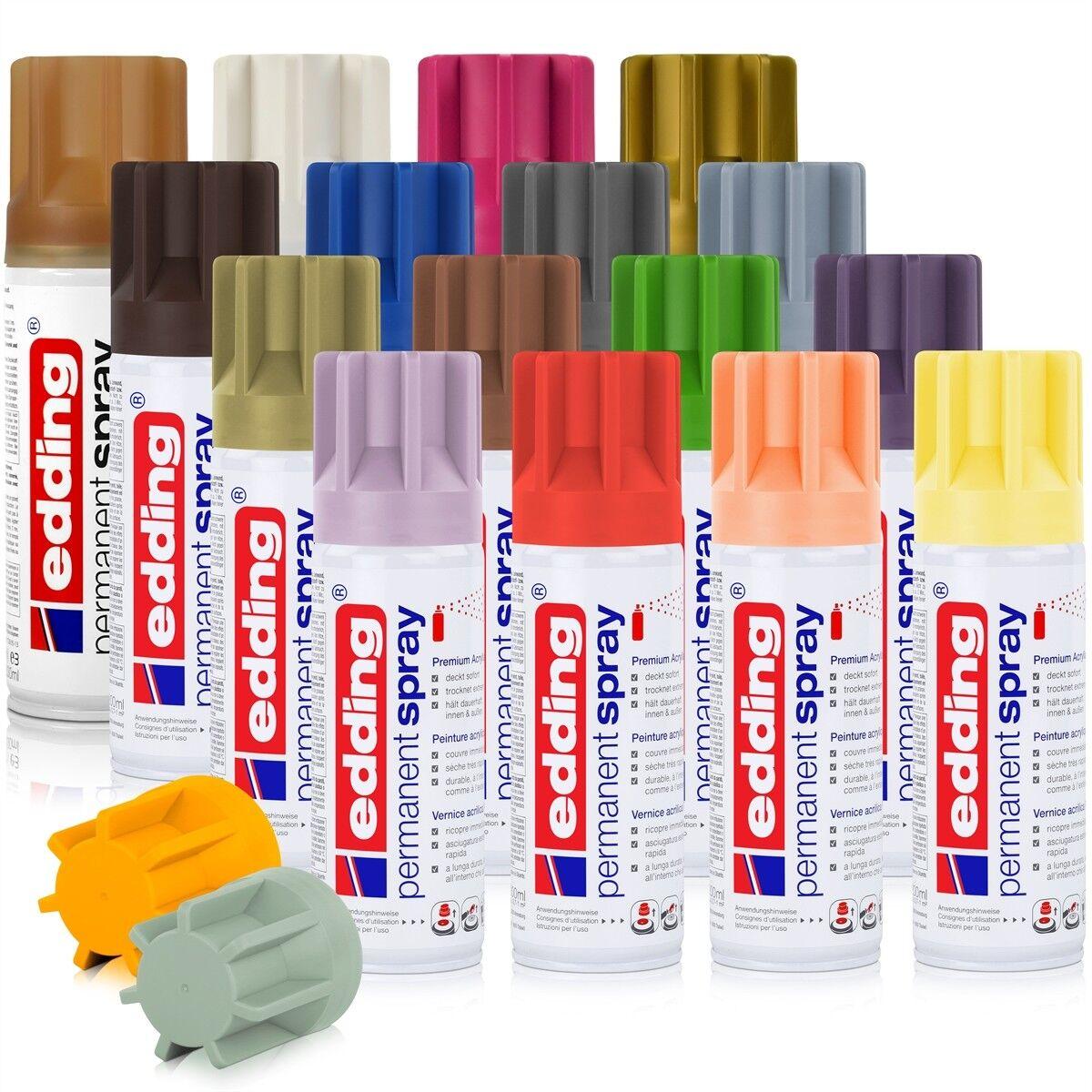edding permanent spray tiefschwarz glänzend | ebay
