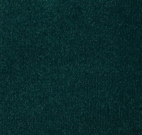 UNIVERSAL FOREST DARK GREEN VELOUR BACK CARPET ACTION//HESSIAN 8MM THICK