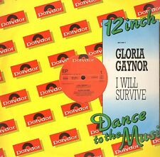Gloria Gaynor- I Will Survive / Honey Abeille / Jamais Can Say Goodbye - Polydor