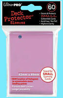 60 Ultra Pro Small Pink Deck Protector Card Sleeves 1 Pack Gaming Size 82685
