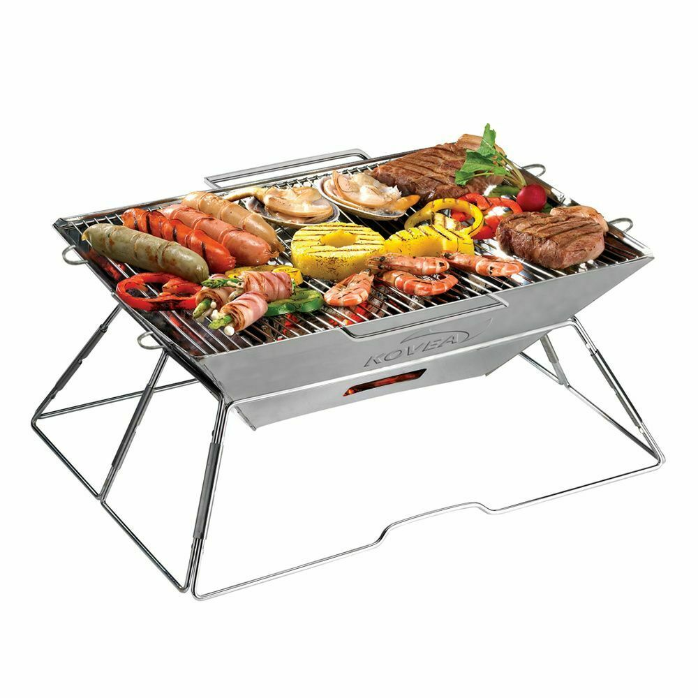Kovea Magic II Aktualisierung Rostfrei BBQ Holzkohle Grill   Barbecue (Kcg-0901)  | Ausgewählte Materialien