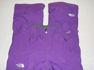 1a2297ee1488 NORTH FACE SKI SNOW PANTS FREEDOM INSULATED HYVENT CARGO PURPLE ...