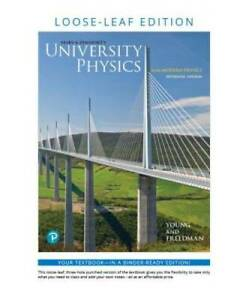 University Physics with Modern Physics, Loose-Leaf Edition (1 - VERY GOOD