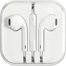Apple OEM Earpods / Headset Wired Headset With Mic(White)