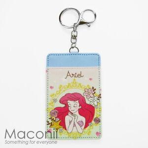Little-Mermaid-Ariel-Card-Holder-Keyring-Keychain-Name-School-Bag-Luggage-Tag