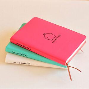 2018-2019-Molang-Rabbit-Notebook-Diary-Weekly-Planner-Agenda-Scheldule-School