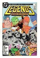 Legends Vol 1 No 3 Jan 1987 (VFN+)DC, Part 3 of 6 part Ltd Srs,1st Suicide Squad