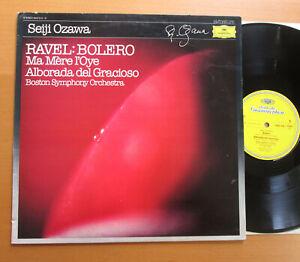 DG-2543-516-10-Ravel-Bolero-Ma-Mere-l-039-Oye-Seiji-Ozawa-Boston-Symphony-NM-VG