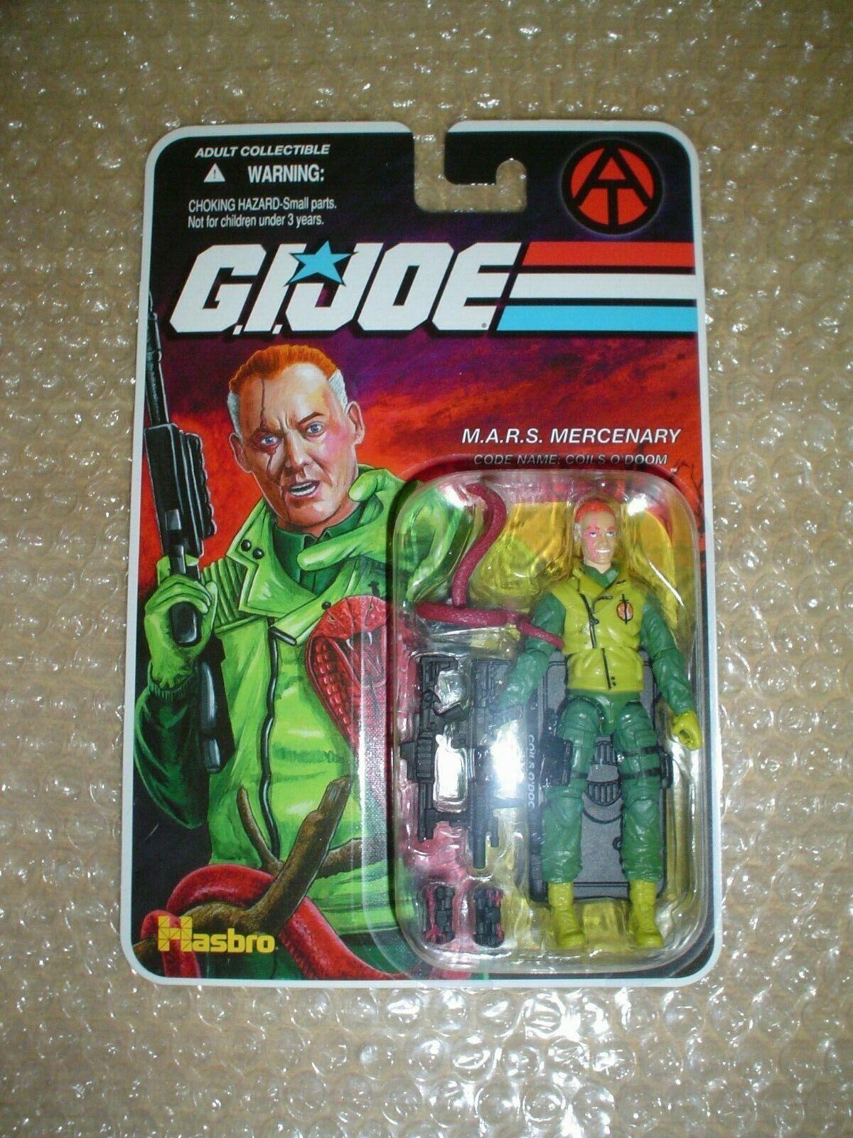 G.I. Joe exclusivo club FSS la final 12  las bobinas de Doom-M.A.R.S. mercenario