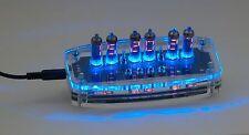 ELECTRONIC CLOCK WITH DIGITAL NIXIE NUMITRON TUBES IV-9 (ИВ-9)