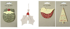 NEW-EAST-OF-INDIA-CUTE-WOODEN-WOOD-HANGING-CHRISTMAS-TREE-DECORATION-OR-GIFT-TAG