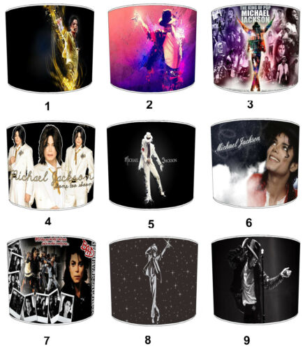 Michael Jackson Lampshades Ideal To Match Michael Jackson Wall Decals /& Stickers