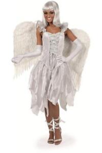 Feen-Fee-Elfe-Tinkerbell-Kostum-Kleid-Elfen-Damen-Waldfee-Engel-Schmetterling